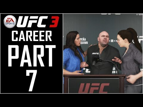 """EA Sports UFC 3 - Career (Female) - Let's Play - Part 7 - """"Julianna Pena Rivalry Fight"""""""