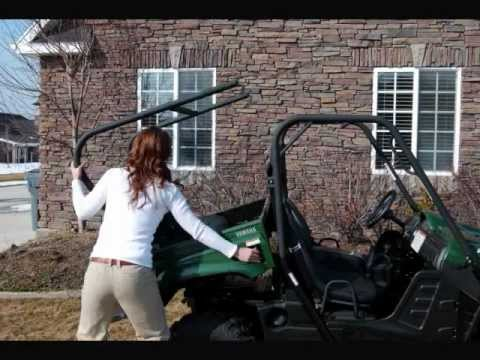 Rhino Rear Seat Utv Extension Kit Youtube