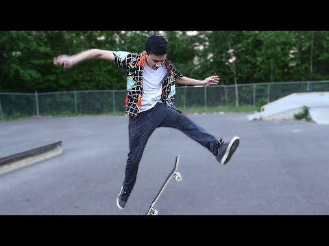 ZexyZek's Newest Skateboarding Skills