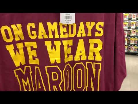 22255acf Washington Redskins apparel hunt at the Non Closing Chambersburg, PA Big  Kmart