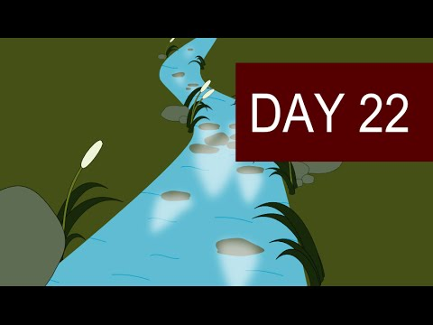 Guided Visualization Meditation with Nature Sounds for stress Relief - Day 22