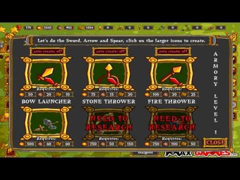 Monster Town Defense, игры для мальчиков, стратегия