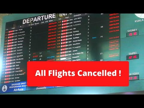 MALAYSIA LOCKDOWN : Airasia Domestic & International FLIGHT CANCELLED