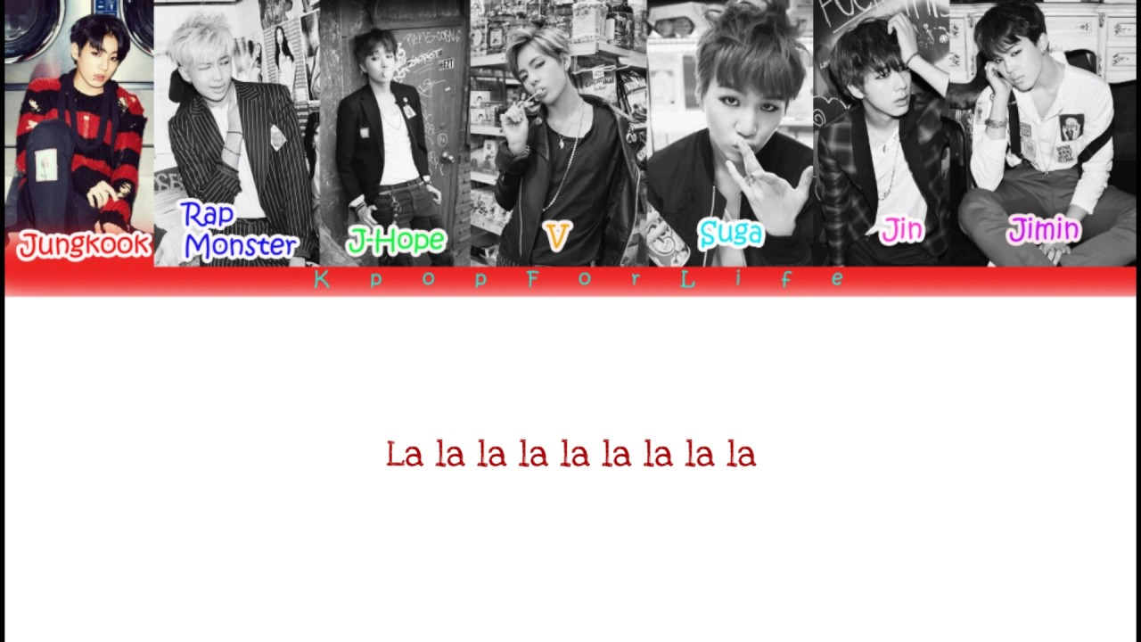 Download MP3 - BTS 'War Of Hormone' Lyrics Color Coded [Hang