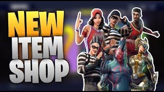 FORTNITE NEW ITEMS IN ITEM SHOP LIVE BRAND NEW SKINS RELEASING TODAY LIVE COUNTDOWN+GAMEPLAY