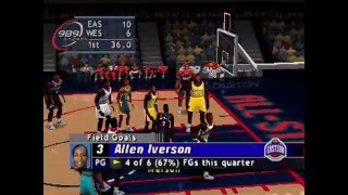 NBA All-Star Weekend in Oakland: NBA Live 2000 & Shoot-Out 2000 (PSone)
