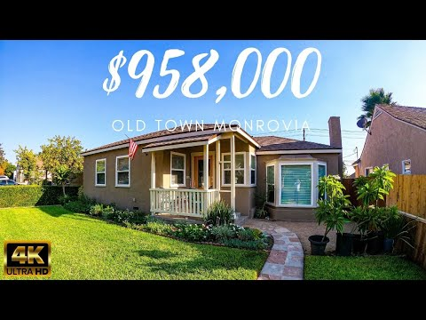 Monrovia California Home Virtual Tour in 4K Complete Remodel Large House Expanded Modern Bathrooms