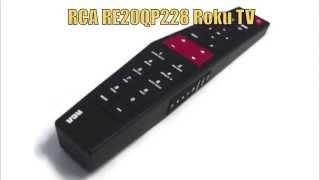 rca re20qp228 roku tv remote control www replacementremotes com