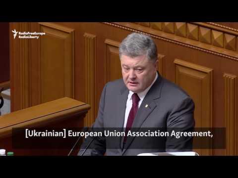 Ukraine's President Warns Of European Appeasement Of Russia