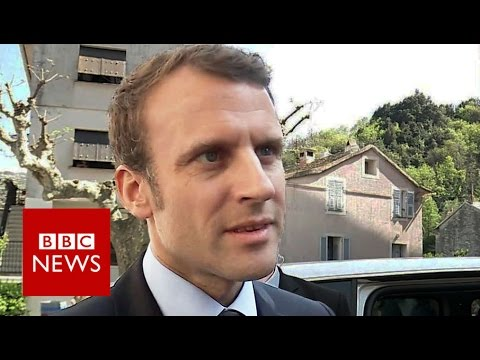 """Emmanuel Macron: 'I'm not a naive optimist' BBC News"""