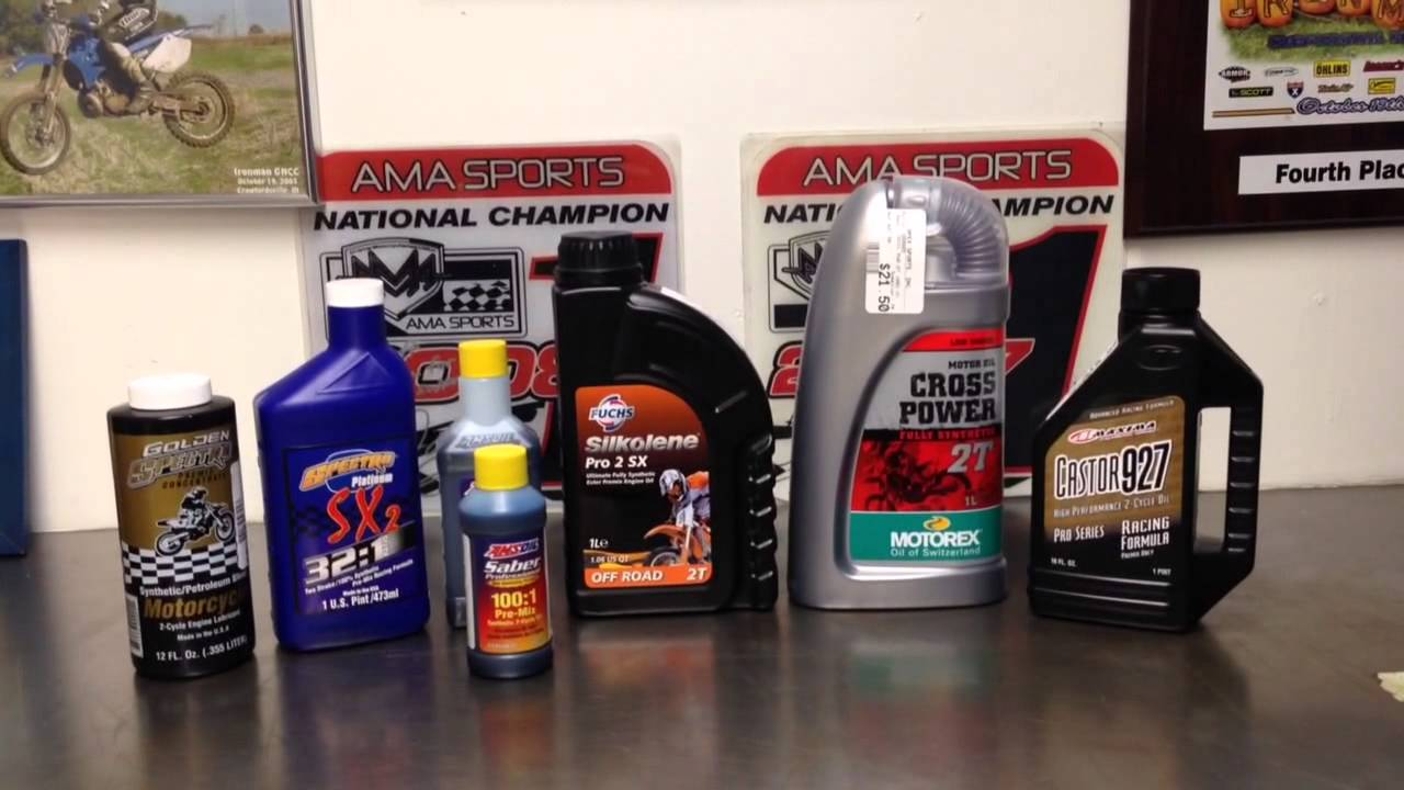 2 Stroke Oils Explained Youtube
