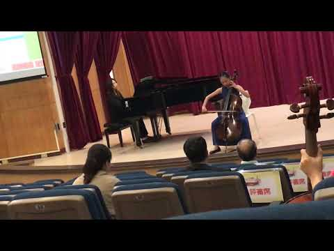 Lalo:cello concerto in D minor 1st mvt.(By Catherine Chen)