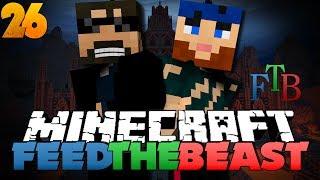 Minecraft Modded Survival - FTB 26 - SO MUCH COBBLESTONE
