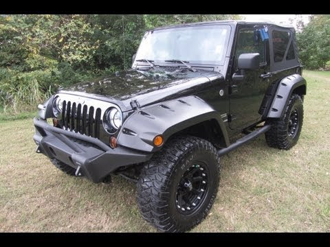 Sold.2010 JEEP WRANGLER SPORT 4X4 FORTEC 2.5 LIFT MICKEY FORD OF  MURFREESBORO 888 439 1265