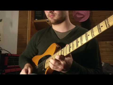 Funky Dorian Jam// Squier Affinity with Tonerider Pickups