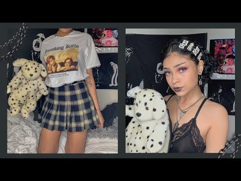 how to have a grunge aesthetic👼🏻⛓