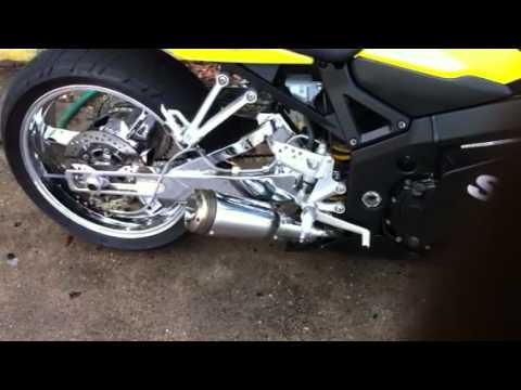 GSXR 600 750 2001 2002 2003 2004 2005 XB08 Extremeblaster Exhaust