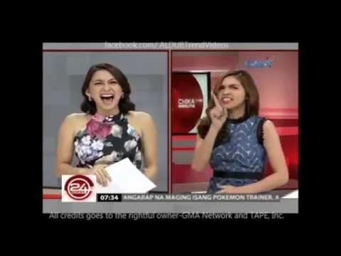 MAINE MENDOZA as Showbiz Chika News Anchor!!! ABERRRR!!!PATINGINNN!!