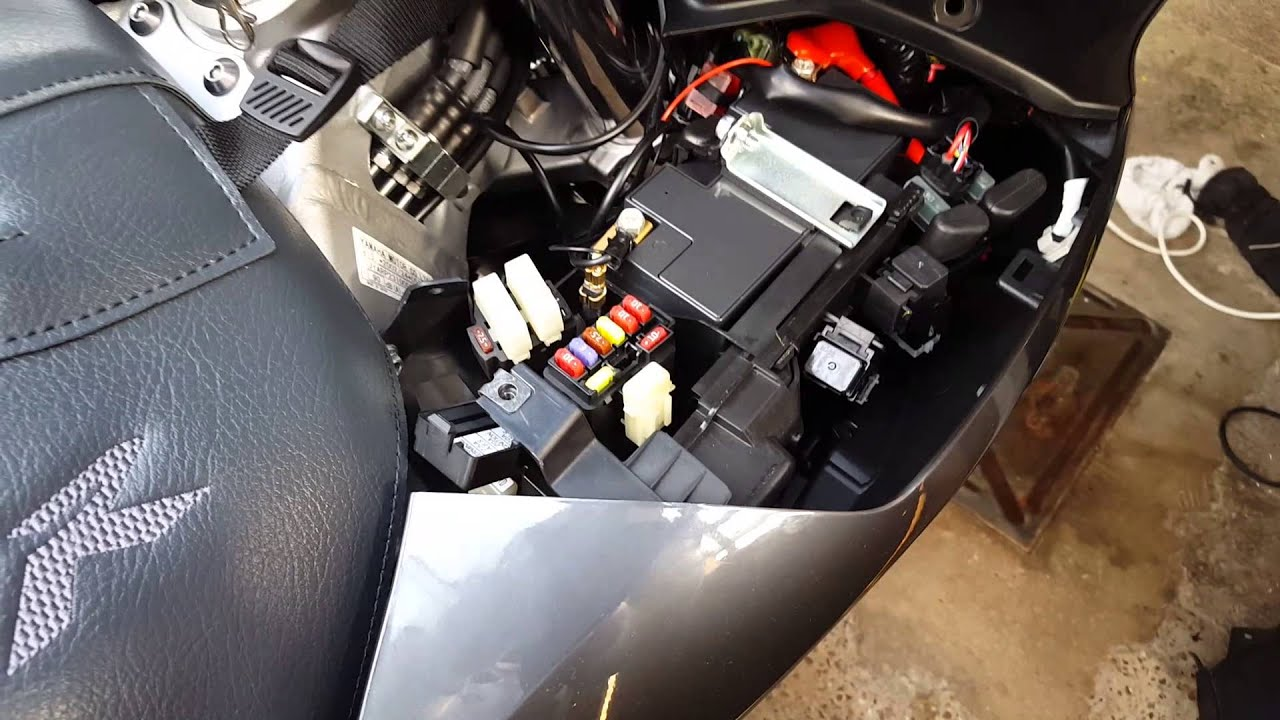 Yamaha Fjr Battery And Fuse Location