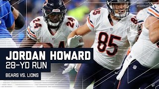Jordan Howard's Huge Run Sets Up Bears FG | Bears vs. Lions | NFL Week 14 Highlights