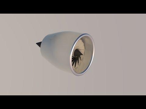 Simple Turbofan Jet Engine Modelling Tutorial - Cinema4D