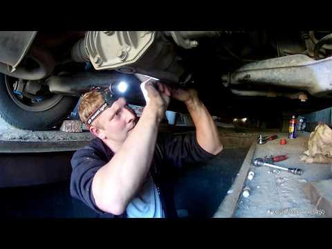 Замена подвесного подшипника и крестовин кардана Mitsubishi RVR Sport Gear