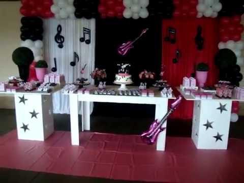 Decoração de Festa infantil tema Musica - Infanteen Festas