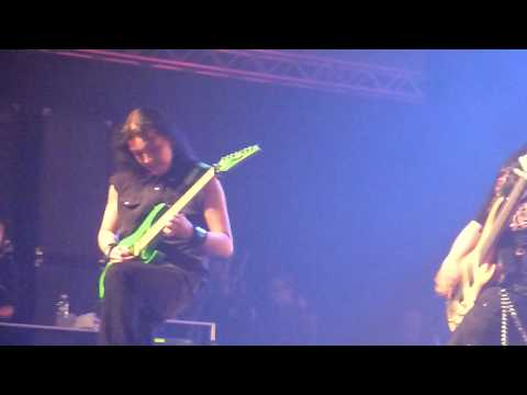 Shallow Water's Solo - Amberian Dawn - Live @ Metal Female Voices Fest 7 (HD)
