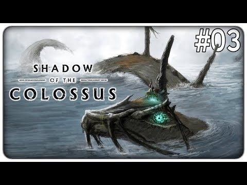 IL LAGO DEL GIGANTESCO SERPENTE ELETTRICO | Shadow of the colossus - ep. 03 [ITA]