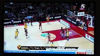 פייר גקסון מפגין שליטה מדהימה בכדור במשחק הגביע מול הפועל תל אביב