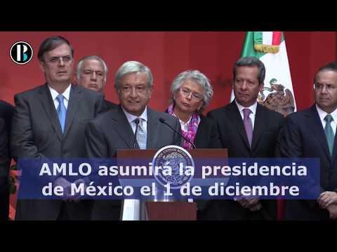 5 Datos importantes sobre la investidura de López Obrador