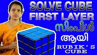 How To Solve Rubik's Cube Malayalam | Rubik's Cube In Malayalam | PART 1