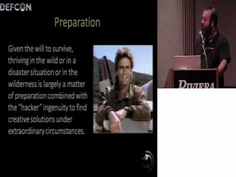 Hackers vs. Disasters Large and Small: Hacker Skills for Wilderness and Disaster Survival (DEFCON17)