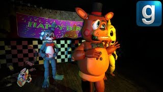 Gmod FNAF | Weird Toy Animatronics!