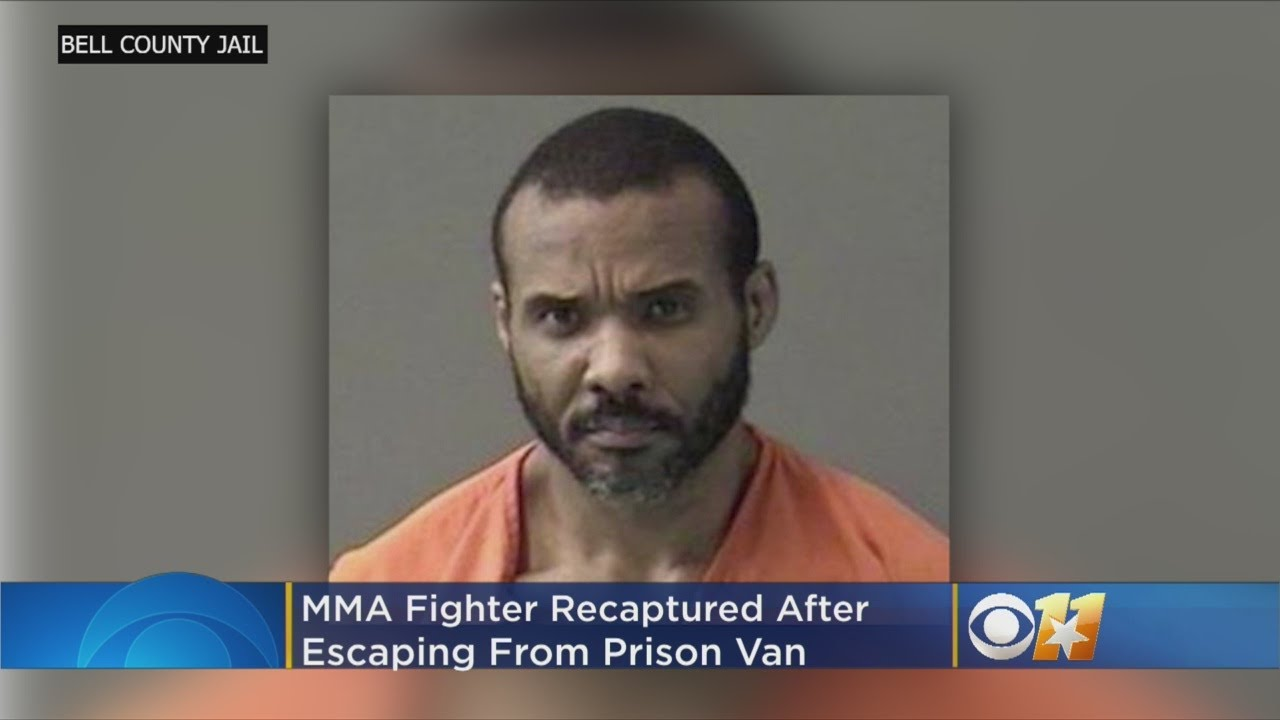 MMA Fighter Recaptured After Escaping From Prison Van