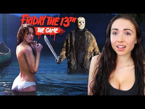 FRIDAY THE 13th GAME - WATCH OUT FOR JASON!!
