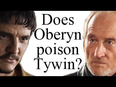 Does Oberyn Poison Tywin?