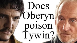 Does Oberyn poison Tywin?