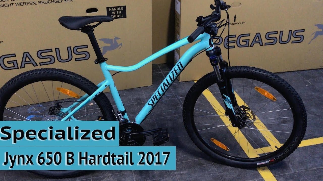 Specialized Jynx 650 B Hardtail Mtb 2017 Women Mountainbike Youtube