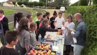 Les élèves de 6eme du collège Maurice Clavel 89 ont couru en faveur d'Action contre la faim.