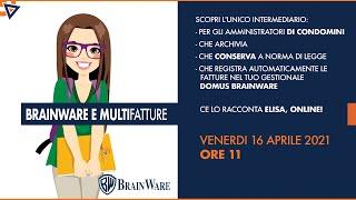 Multifatture in Brainware: I webinar di Elisa