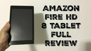 Amazon Fire HD 8 Tablet review