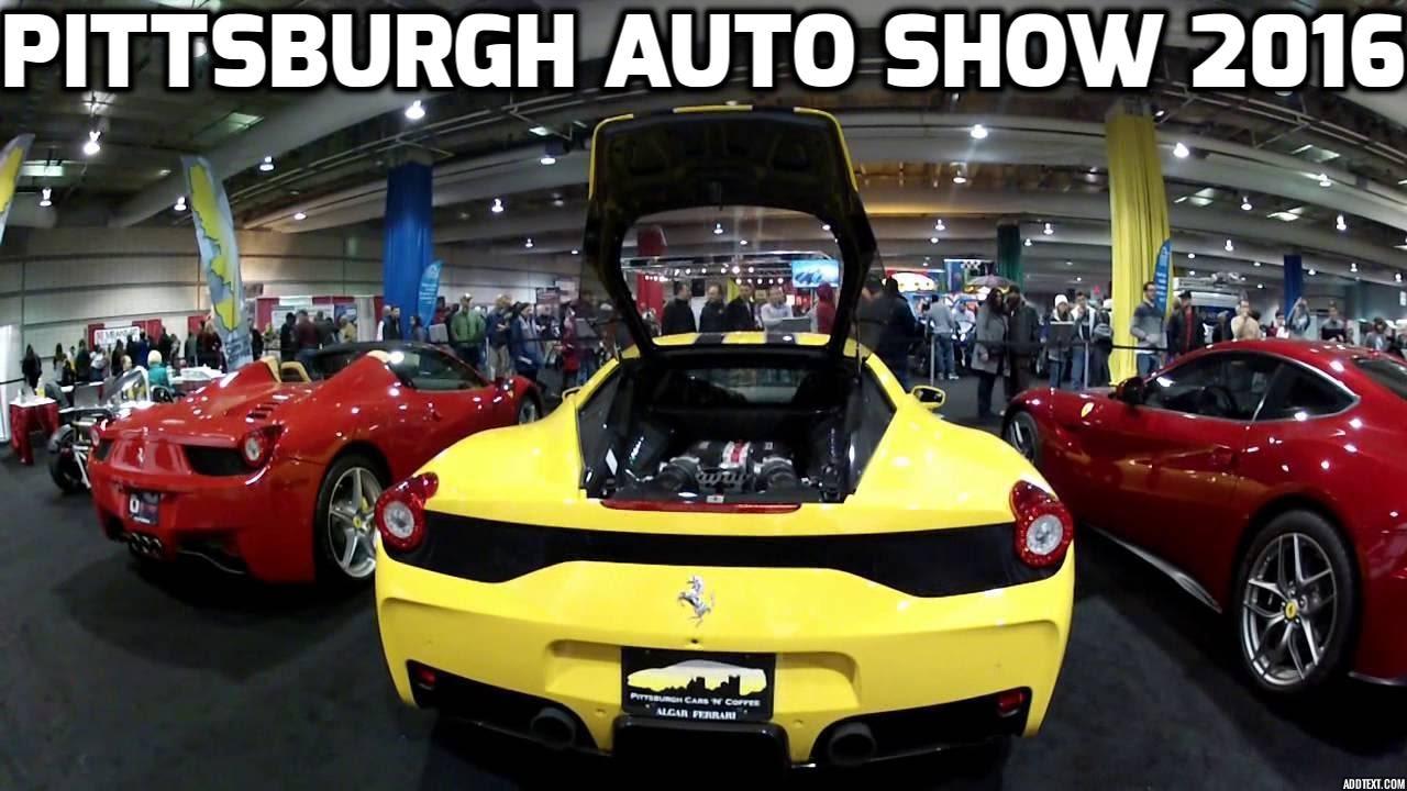 Pittsburgh International Auto Show YouTube - Pittsburgh car show