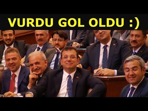 İBB Meclisi çok eğlenceli 😅 CHP vurdu gol oldu