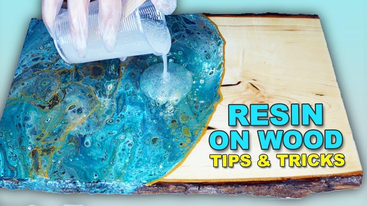 Resin On Wood Tips Tricks