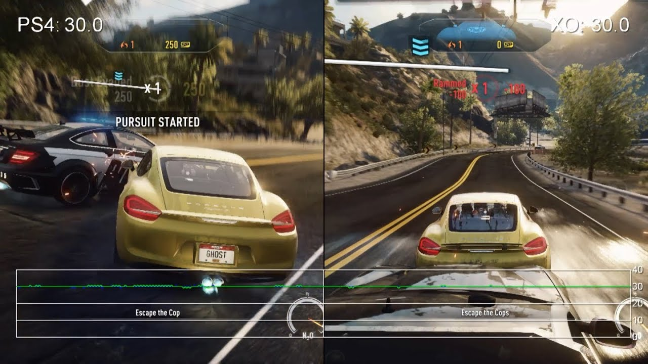 need for speed rivals ps4 vs xbox one frame rate tests. Black Bedroom Furniture Sets. Home Design Ideas
