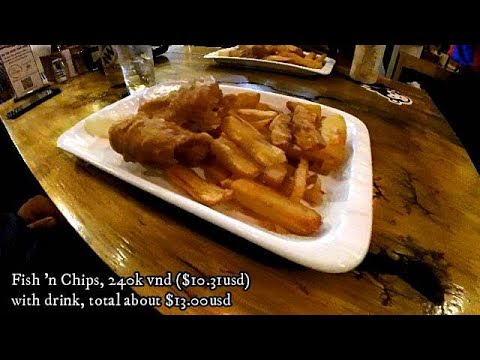 Union Jacks Fish & Chips - Saigon, Vietnam Menu & Food