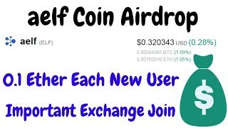 aelf Coin Free | 0.1 ETH each new user & Important Exchange | BestEarningTips