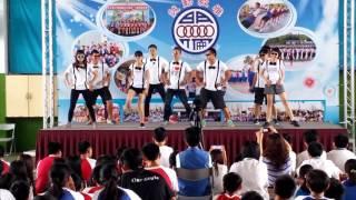 明倫國中教師熱舞