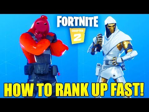 HOW TO RANK UP FAST IN FORTNITE CHAPTER 2 SEASON 1! HOW TO LEVEL UP FAST FORTNITE CHAPTER 2 TIER 100
